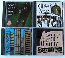 "Lot of 4 ""Kill Rock Stars"" Alternative Compilation Olympia, WA CDs"