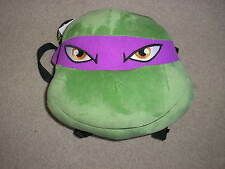 New Teenage Mutant Ninja Turtles Donatello Stuffed Animal Small Backpack