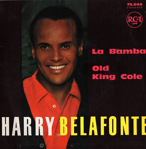 HARRY-BELAFONTE-La-Bamba-Old-King-Cole-RCA-Master-Recording-RARE-45RPM