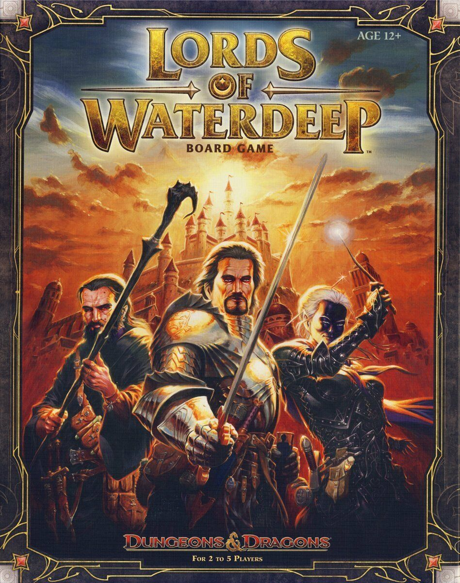 Dungeons & Dragons Lords  of Waterdeep Gioco da Tavolo D&D  punto vendita