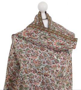 Pure-Wool-Shawl-Kani-Pashmina-Ladies-Indian-Embroidered-Winter-Kashmir-Wrap-Gift