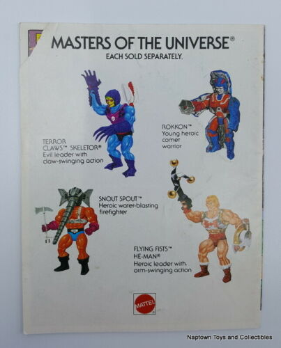 Vintage MOTU He-Man #1 MINI COMIC BOOK YOUR CHOICE Masters of the Universe