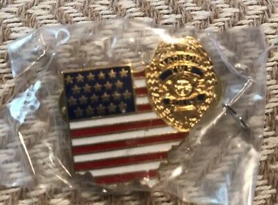 State of South Carolina CONSTABLE Gold Tie Bar PA state seal SCROLL SHAPE