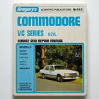 Holden Commodore VC Series 6-Cyl 1980-81 Gregory's Service & Repair Manual #183