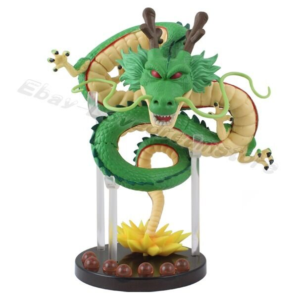 "Anime Dragonball Z Shenron 15.5cm/6.2"" PVC Figure with 7 Dragon Balls No Box"