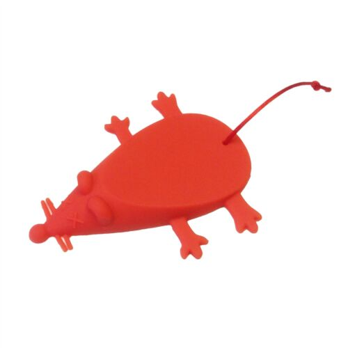 9 COLOURS Novelty Christmas Birthday Silicone Rubber Mouse Door Stop Wedge