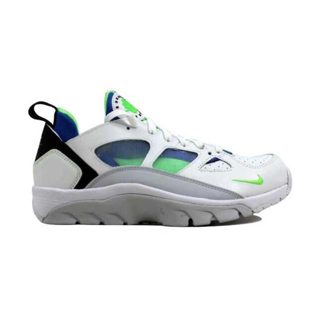 Nike Air Trainer Huarache Huarache Trainer Low Leather Basketball Sko eBay 5b95c9