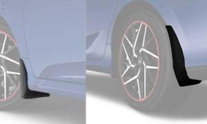 Genuine-Honda-Splash-Guard-Mud-Flap-Kit-Fits-2017-2020-Civic-SI-2dr-Coupe