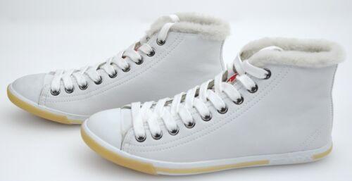 Prada Cuir Femme Casual Chaussures Art Loisir Sport De qRgfrRxwXB