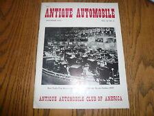 1950 Antique Automobile - September 1950 - Original Vintage