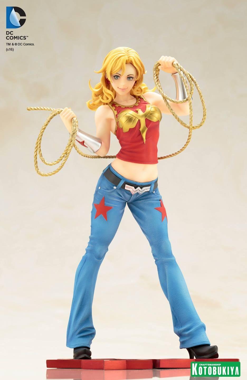KOTOBUKIYA BISHOUJO DC COMICS WONDER GIRL FIGURE   STATUE 1 7 SCALE DC025