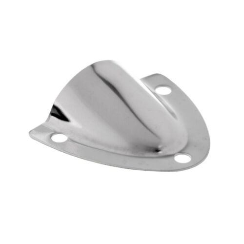 3 Pieces Stainless Steel Clamshell Vent Wire Cover Clam Shell Vent for Boat