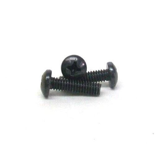 50 NEW 8-32 X 5//8 PHILLIPS PAN HEAD MACHINE SCREW 18-8 SS BLACK OXIDE NH