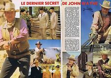 Coupure de presse Clipping 1980 John Wayne  (7 pages)