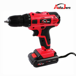 Image Is Loading 20v Max Brushed Ful Cordless Drill Driver Tool