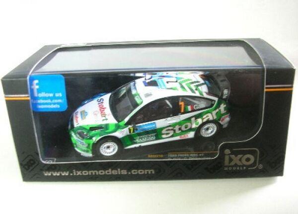 Ford Focos RS WRC No. 7 Sweden Rally 2008  | Elegante und robuste Verpackung