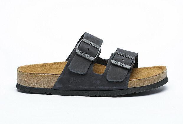 Nuevo Naot Shahar Hombres Zapatos Zuecos Antideslizante En Cuero Nubuk Zapatillas Ojotas de diapositivas