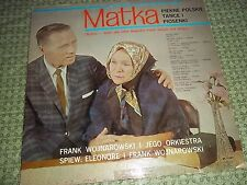 Vtg.Vinyl LP Record Album - Matka (Mother), Frank Wojnarowski