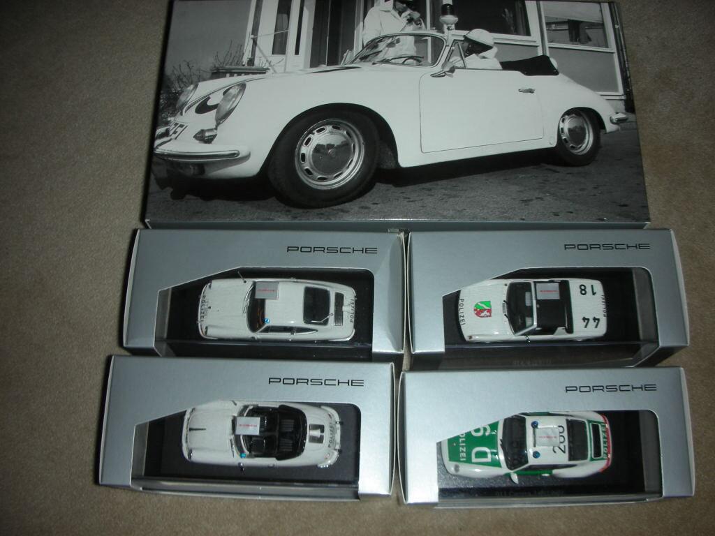 History Collection Police Car de Porsche nuevo 1 43