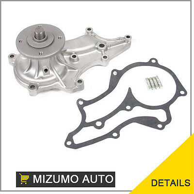 Fit NEW Water Pump 85-95 Toyota 2.4L SOHC 8v / 22R, 22RE, 22REC, 22RTEC