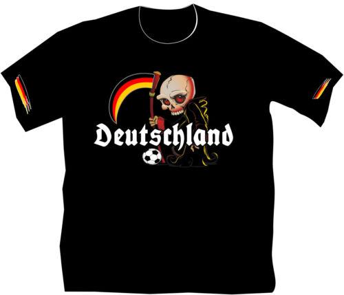 WM Shirt 2018 T-Shirt Fußball Deutschland Fussball Fanartikel Kinder Russland 19