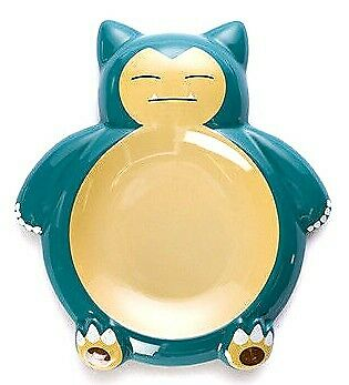Kabigon Plate Pokemon Cafe Limited Snorlax Ceramic Pocket Monster