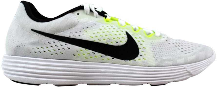 Nike Lunaracer 4 White Black-Volt 844562-107 Men's SZ 5.5