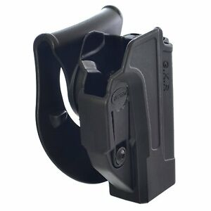 Tactic Glock Gun Holster Polymer 360 Rotation Paddle Belt w/ Tension Adjustment