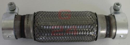 Tuyau Flexible Pièce Tube Collecteur Y-Pipe 55x200x300mm Avec Anneaux