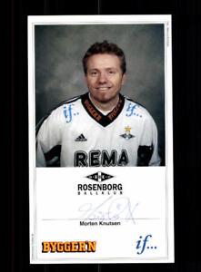 Morten-Knutsen-Autogrammkarte-Rosenborg-Trondheim-Original-Signiert-A-178850