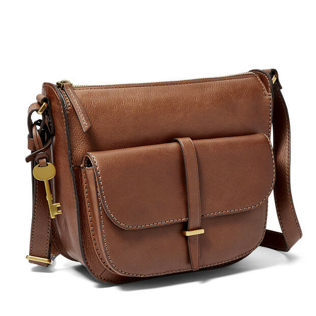 73a548c72 Fossil Ryder Crossbody Bag Brown ZB7411200 for sale online   eBay