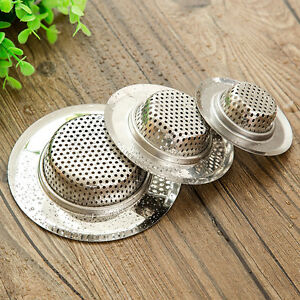 kitchen sink mesh strainer new stainless steel sink mesh basin drain strainer kitchen 5858