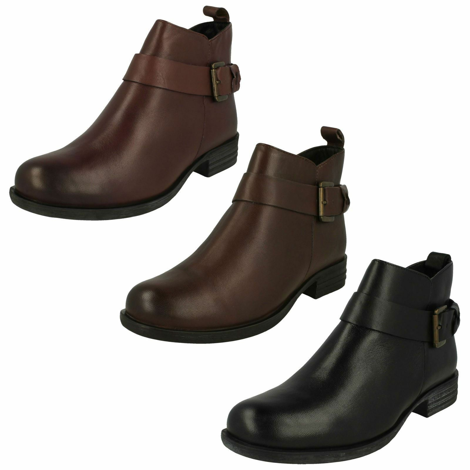 damen-Van Dal Zip Fastening Ankle Stiefel Lynn X