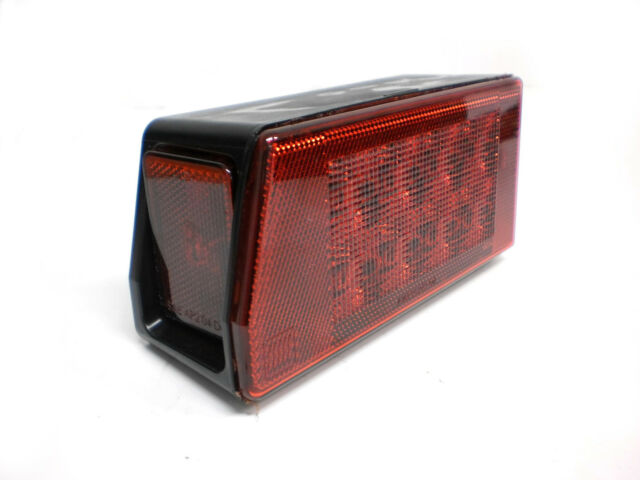 "Drivers Left Road Side 8"" Submersible Over 80"" LED Truck Boat Trailer Light"