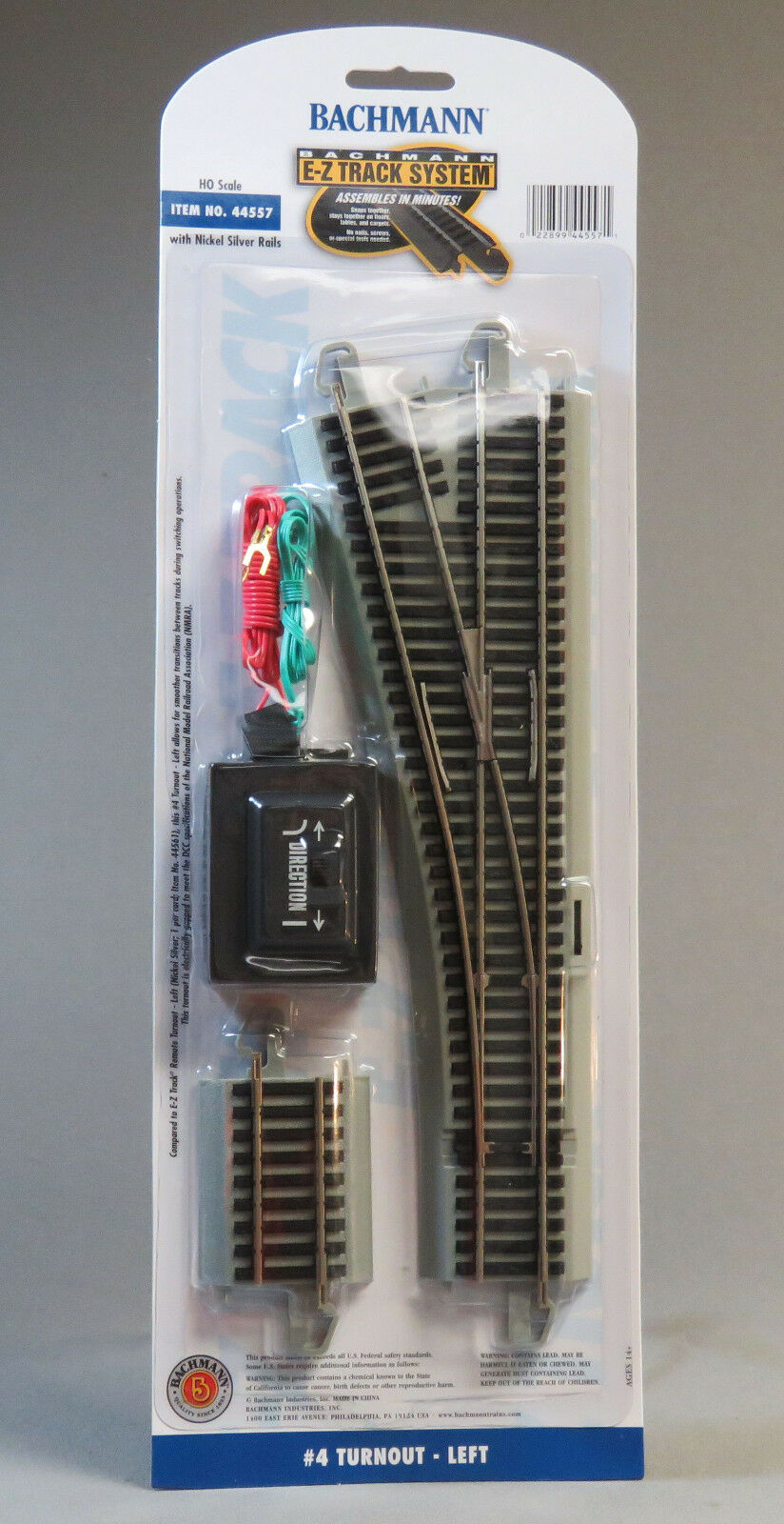 Ho Ns Gray Ez Track Remote 4 Left Turnout Bachmann Trains 44557 Ebay Dcc Wiring Wye Norton Secured Powered By Verisign