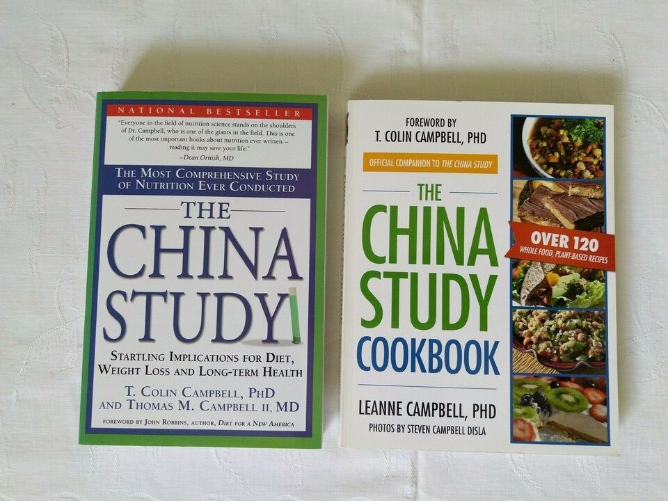 The China Study, T.Colin Campbell, PhD mfl