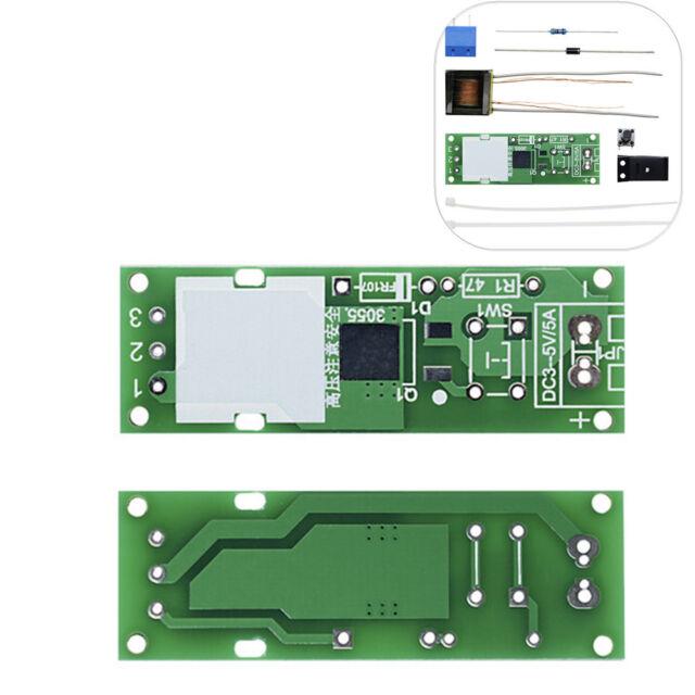 DIY Kit DC3-5V High Voltage Generator Arc Igniter Lighter Boost Electronic Suite