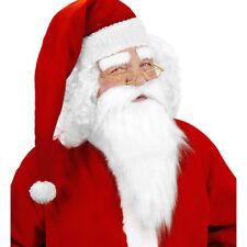 WEIHNACHTSMANNBART Weihnachtsmann Nikolaus Bart & Augenbrauen Kostüm Party 1517