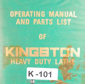 kingston hr2000 hr3000 hr4000 hr5000 hr6000 lathe operations rh ebay com Engine Lathe Parts Diagram Wood Lathe Schematics