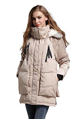 Down Color Savoie Nwt Størrelse Jacket Ivory Aini Dame Small 0Sannx4
