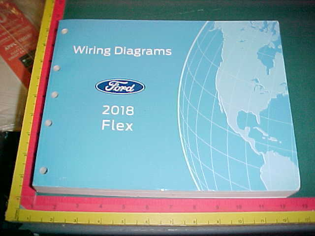 2018 Ford Flex Wiring Diagrams Manual Mint    New