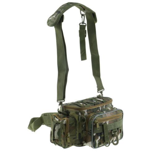 Angeln Tasche Mehrere Pocket Tackle Gear Pack Verstellbare Gurt