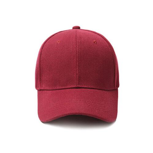 Basecap Baseball Schildmütze Snapback Kappe Mütze Caps Verstellbar Sport Hut
