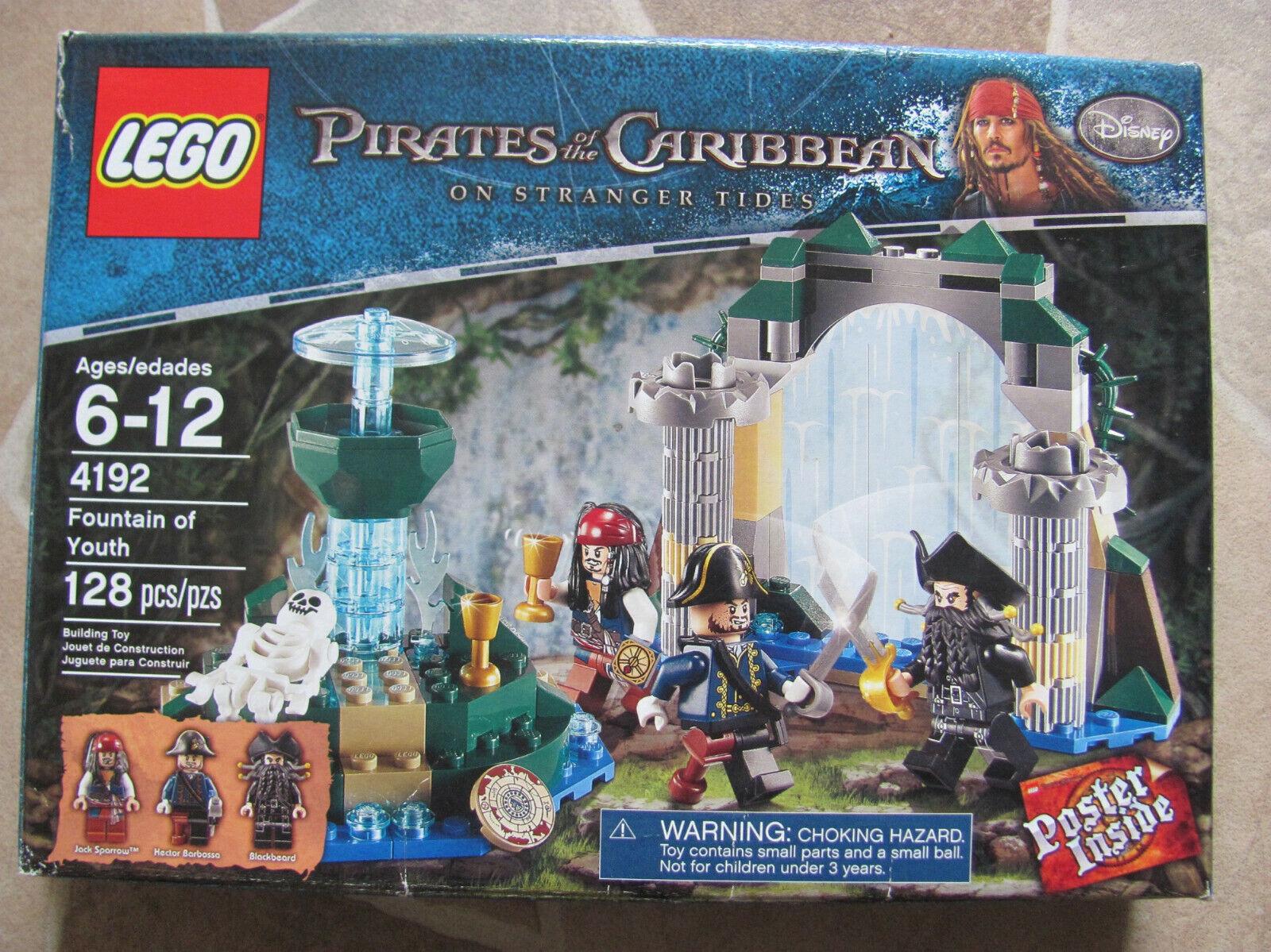 Lego Pirates  des voitureaïbes 4192 Fontaine de Jouvence, nouveau, P. article orthographe  bon shopping