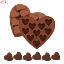 Love Heart Silicone Cake Decorating Mould Candy Cookie Chocolate Baking Mold