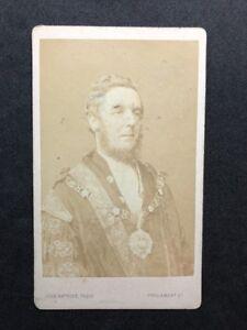 Image Is Loading Victorian Carte De Visite CDV Watkins London Mayor