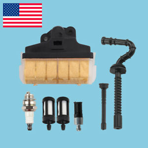 Air Filter Oil Fuel For STIHL MS210 MS230 MS250 021 023 025 Chainsaw Filter Line