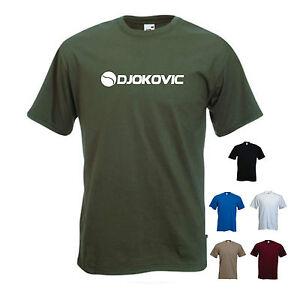 Djokovic Tennis Novak Djokovic T Shirt Tee Ebay