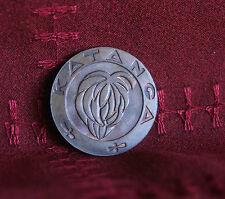 Katanga 1961 Africa High Grade 5 Bronze World Coin KM2 Banana bunch Cross