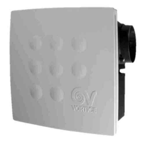 Vortice Quadro Micro 100mm Flush Centrifugal Extractor Fans Timer Humidity